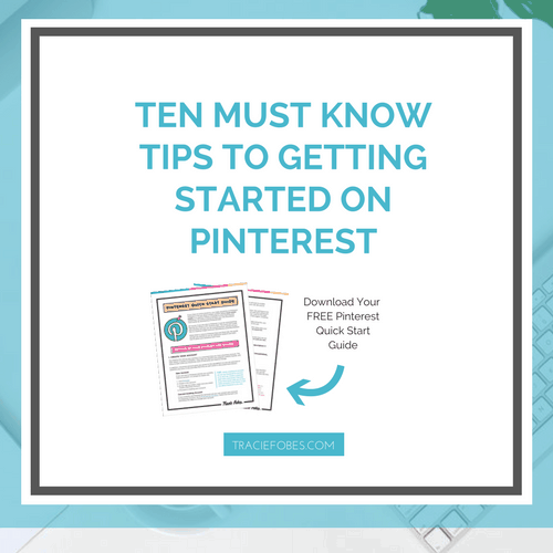 Ten Simple Tips for Getting Started On Pinterest
