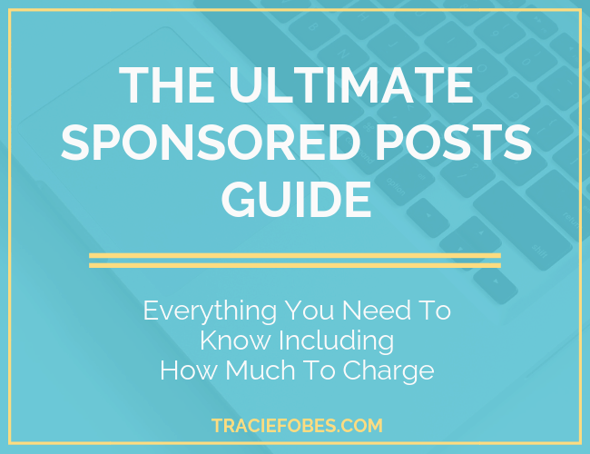 sponsored blog posts guide