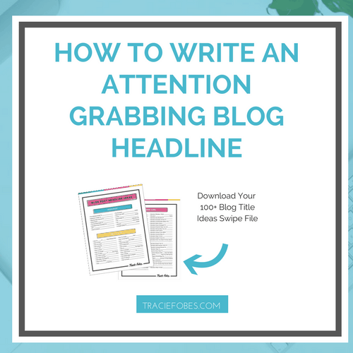 Six Simple Tricks To Writing An Attention Grabbing Headline