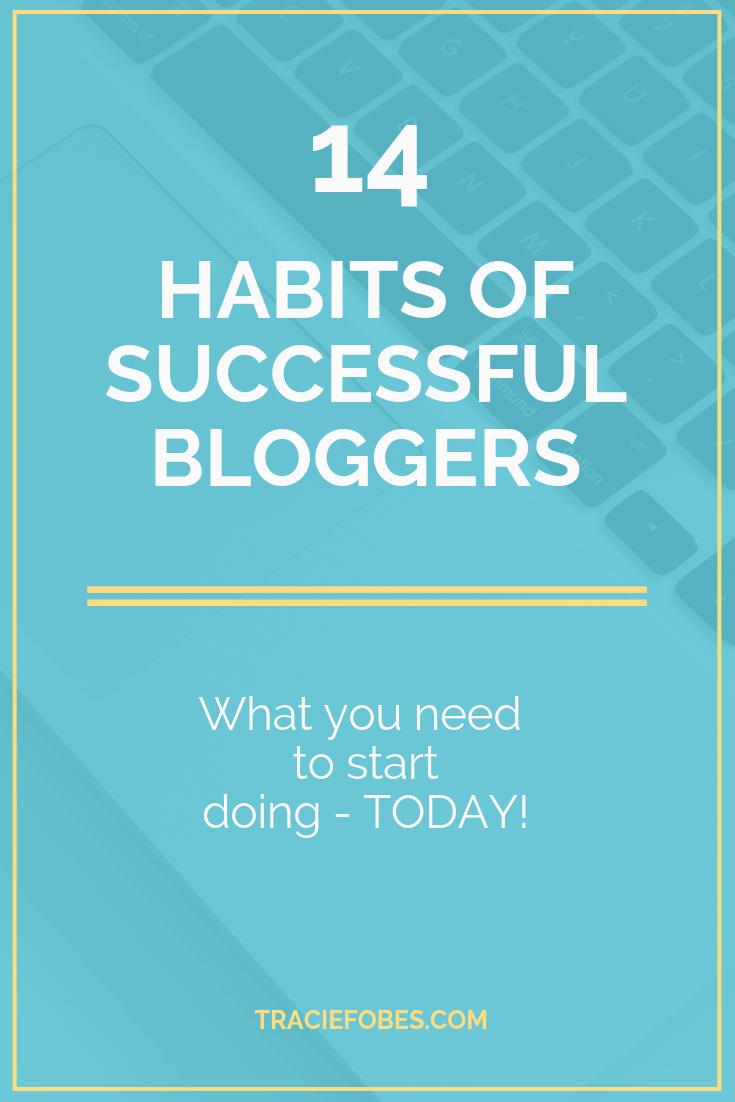 succeeding at blogging