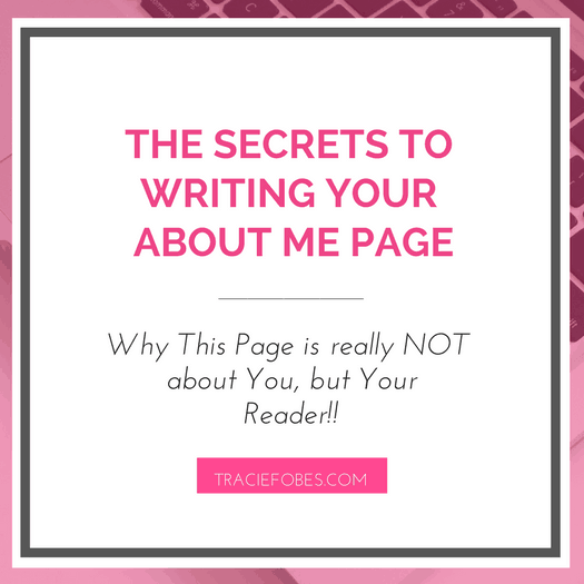 How to Write an Effective About Me Page