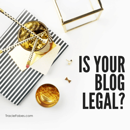 The Law and Your Blog:  What You Need To Know