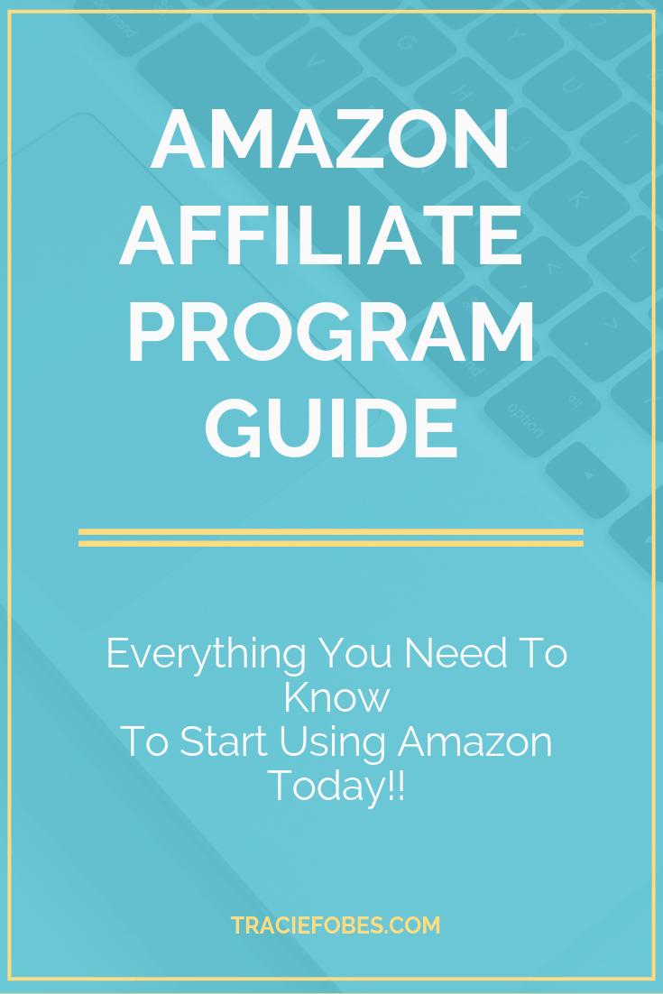 using the amazon affiliate program